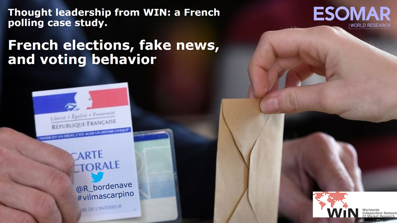 French election polling, Fake news & Voting behavior